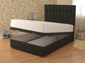 Dahlia 4'0 Small Double Front Opening Ottoman & Mattress