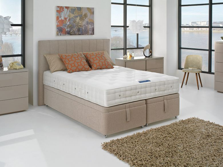 Hypnos Orthocare 8 4'0 Small Double Platform Top Divan Base & Mattress