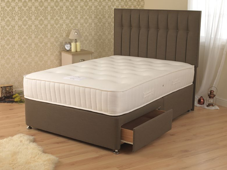 Ash 800 6'0 Super King Deep Divan Base & Mattress