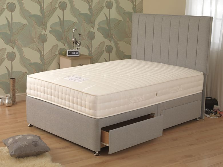 Elder 1000 3'0 Single Deep Divan Base & Mattress