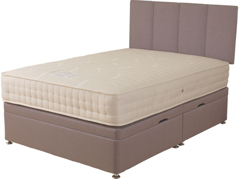 Elder 1000 5'0 King Size Side Opening Ottoman & Mattress