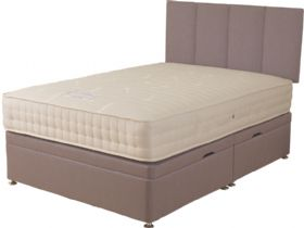 6'0 Super King Side Opening Ottoman & Mattress