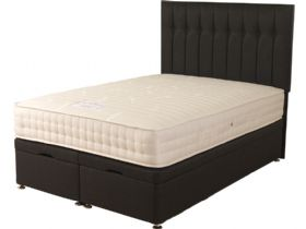 4'6 Double Front Opening Ottoman & Mattress