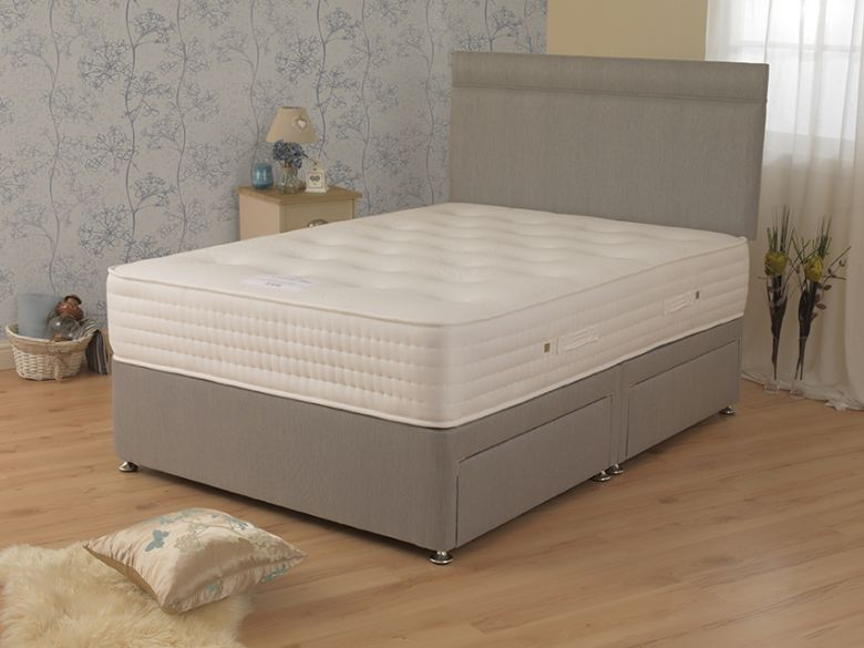 Fuschia 2000 3'0 Single Deep Divan Base & Mattress