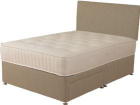 4'0 Small Double Deep Divan Base & Mattress