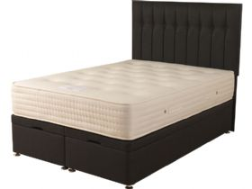 Fuschia 2000 4'6 Double Front Opening Ottoman & Mattress