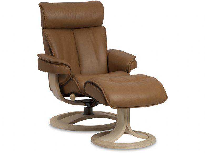 Tanner Recliner Chair & Stool