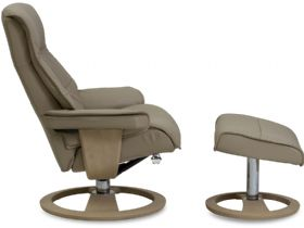 Lanwood Recliner & Stool Side