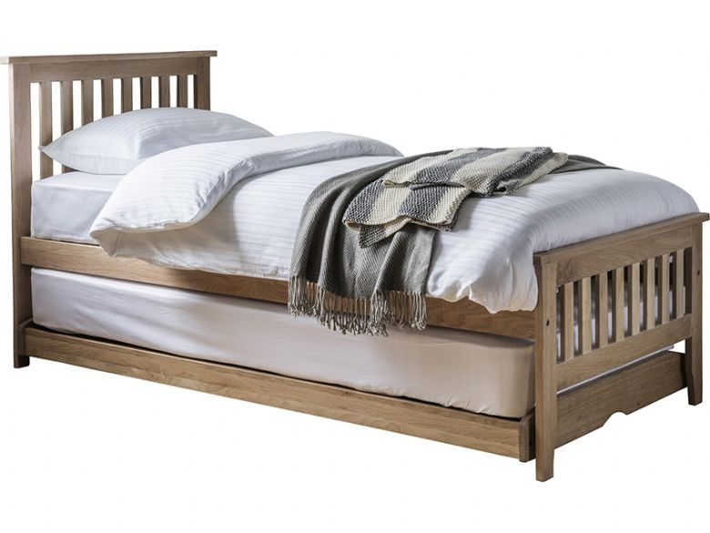 Oak Guest Bed with Thame Mattresses