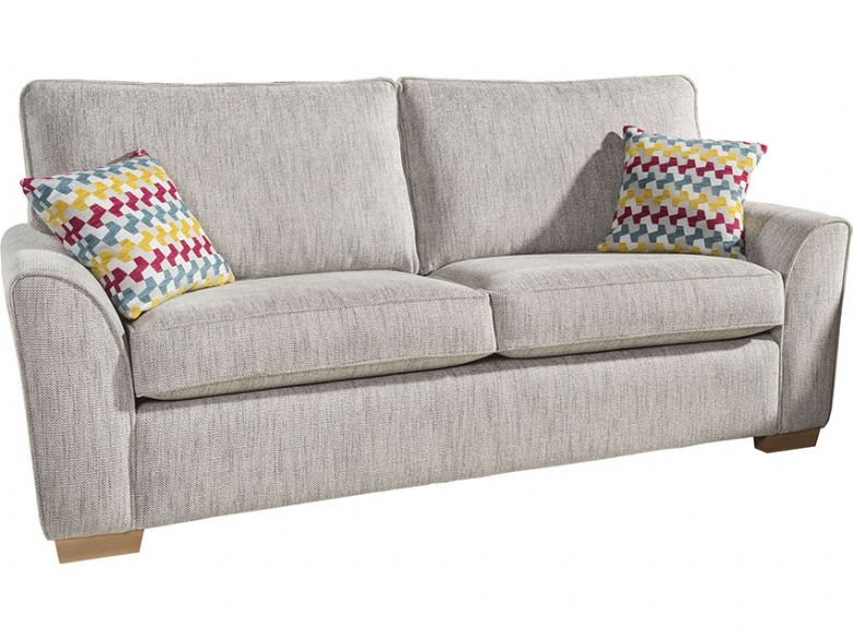 alstons spitfire 3 seater sofa bed with regal mattress 88695