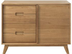 Shackleton Oak 2 Section Sideboard