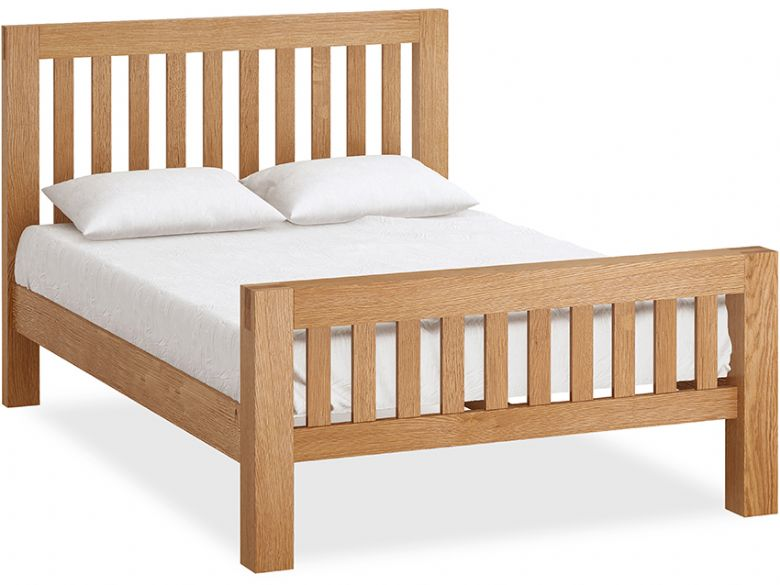 Bromley Oak 4'6 Double Bedframe