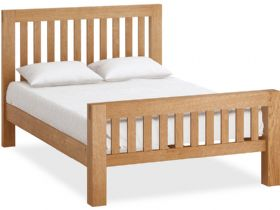 Oak 4'6 Double Bedframe
