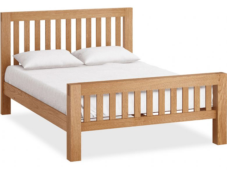 Bromley Oak 5'0 King Size Bedframe