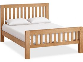 Oak 5'0 King Size Bedframe