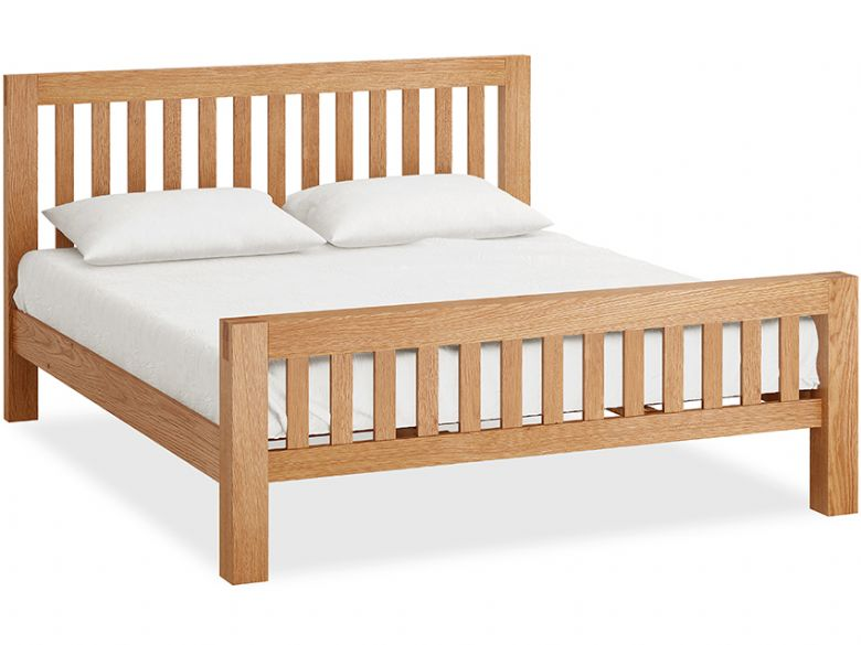 Bromley Oak 6'0 Super King Bedframe