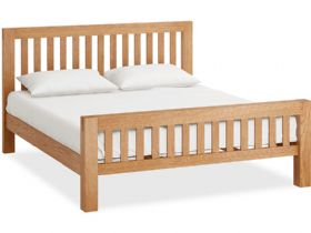 Oak 6'0 Super King Bedframe
