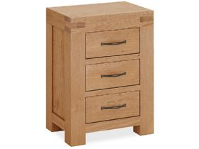 Oak Bedside Chest
