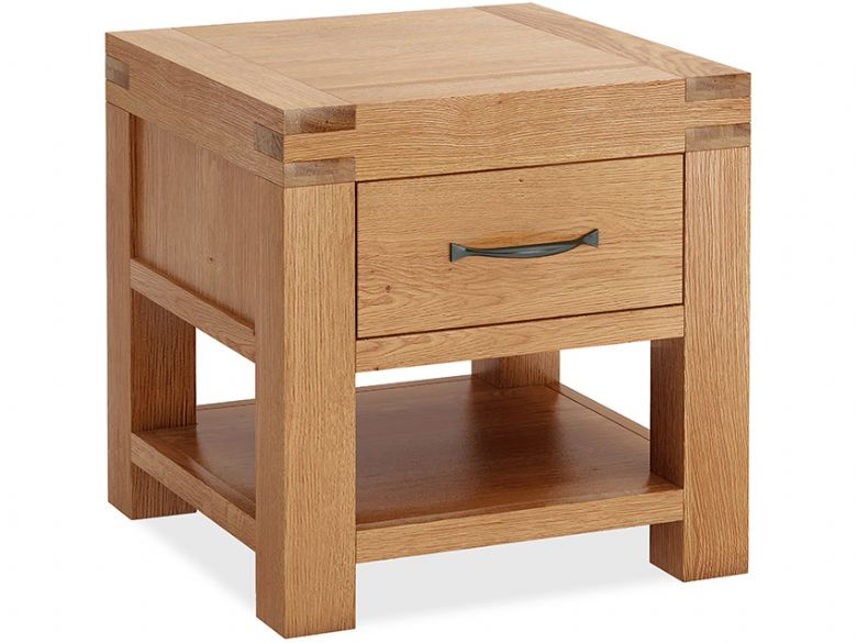 Bromley Oak Lamp Table
