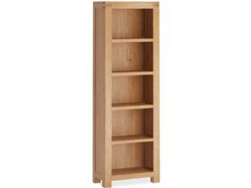 Bromley Oak Slim Bookcase