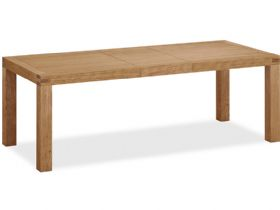 Oak Large Extending Dining Table