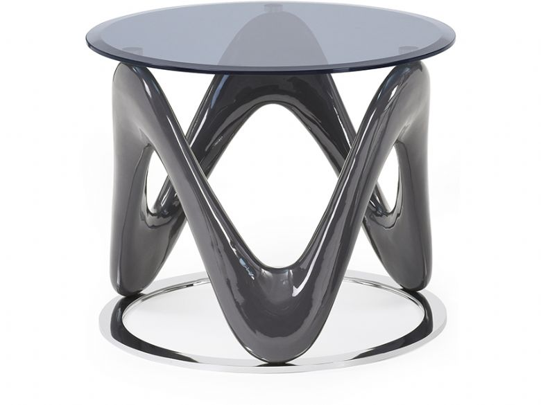 Swirl End Table