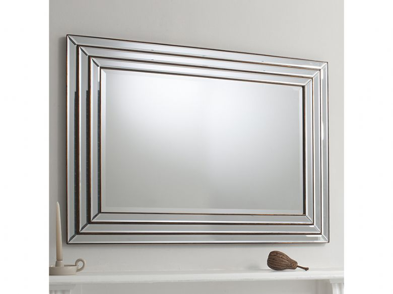 Camila Bronze Mirror 1175 x 870mm