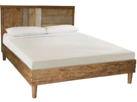 Reclaimed Pine 4'6 Double Bedframe