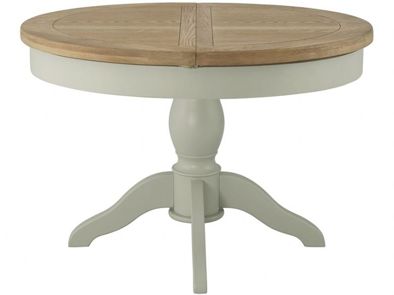 Hockley Grand Painted Round Butterfly Extending Dining Table