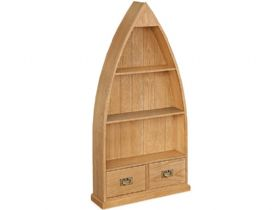Oak Boat Bookcase