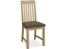 Vertical Slat Dining Chair