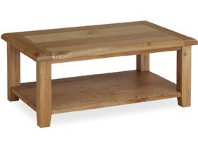 Larkhall Coffee Table with Shelf