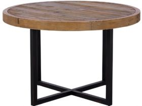 120cm Reclaimed Round Dining Table