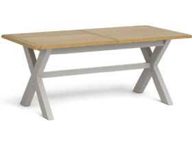 190cm Cross Extending Dining Table
