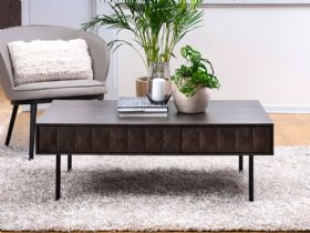 Anastasia industrial style coffee table
