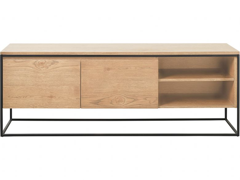 Rosta modern oak TV unit available at Furniture Barn