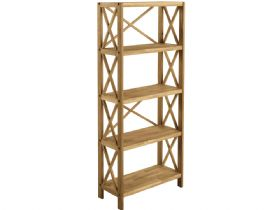 Oak 5 Shelf Unit