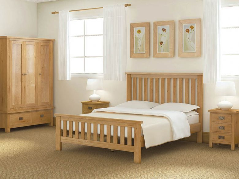 Salisbury oak bedroom range